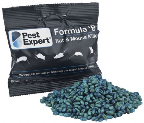 "Raticide en grains Formule ""B"" de Pest Expert 3kg"